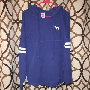 PINK t-shirt hoodie